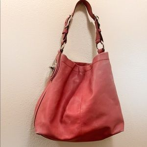 Coach Bags - Coach Peyton Peony Leather Shoulder Bag